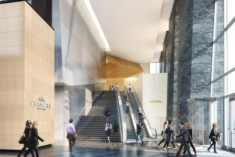 10 Hudson Yards Lobby
