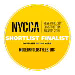 "NYCCA 2019 Shortlist Finalist ""Supplier of the Year"""