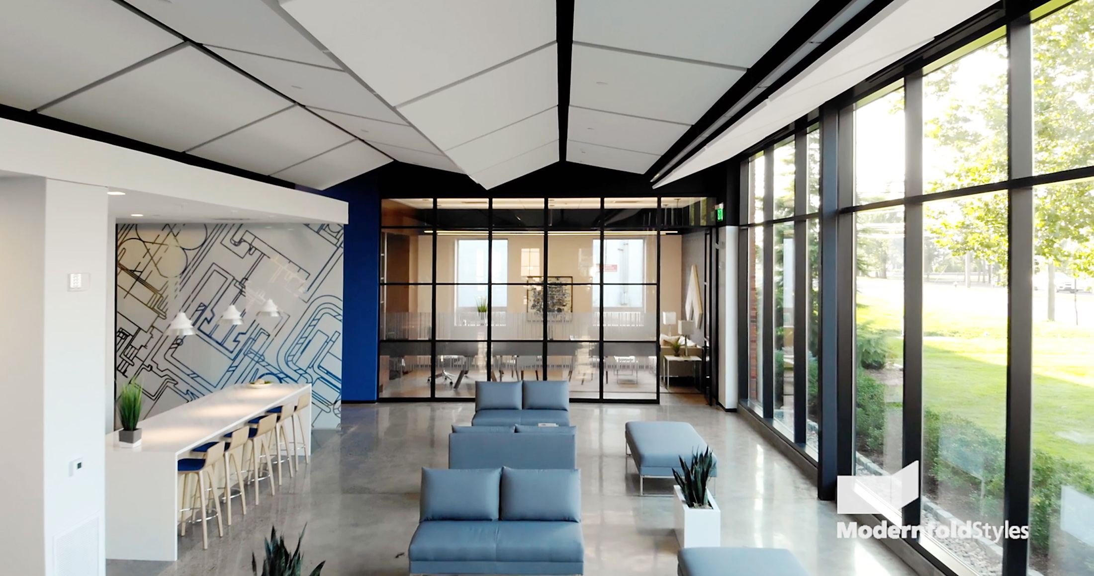 ModernfoldStyles Showroom Lobby