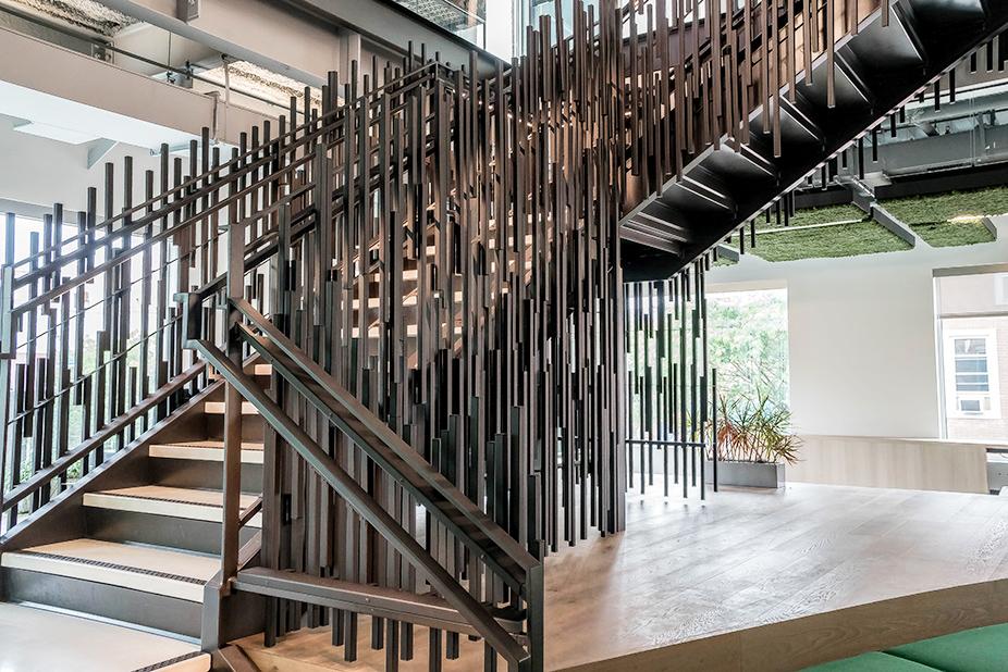 BCG stairways