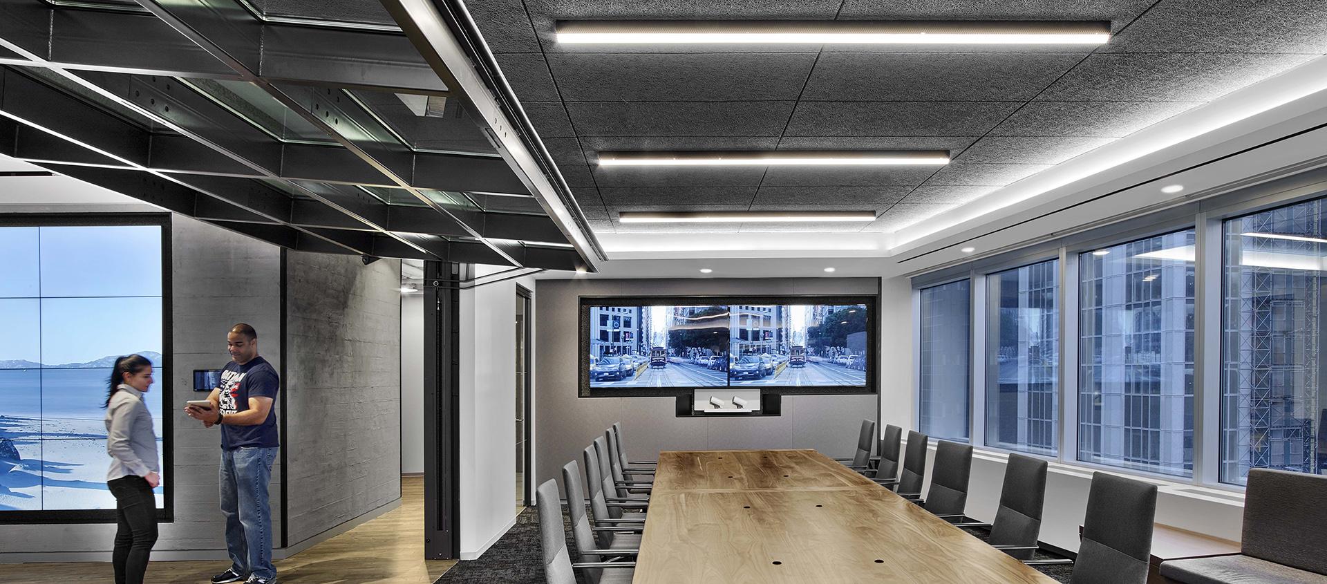 Blackstone Renlita S conference room divider Operable