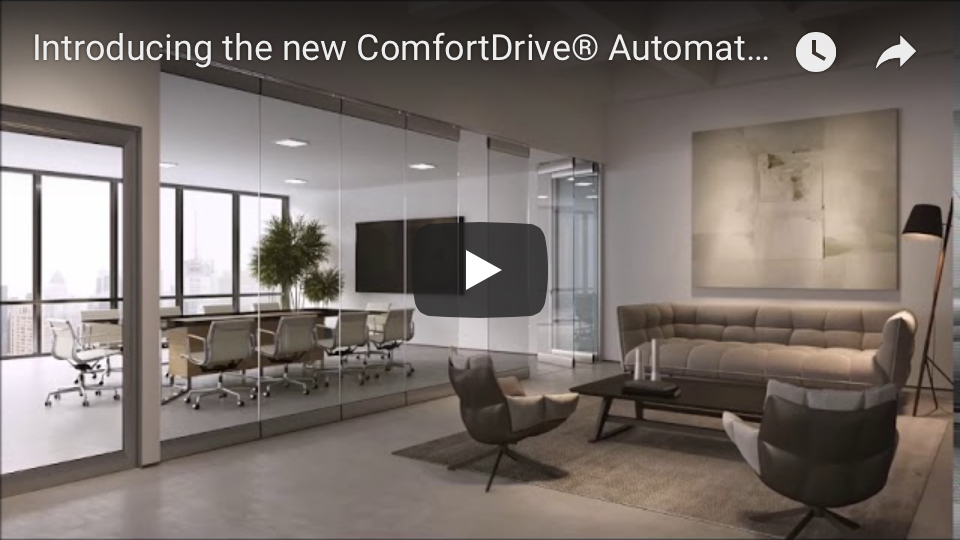 Introducing the New ComfortDrive Automated Self-Driving Panel System by Modernfold