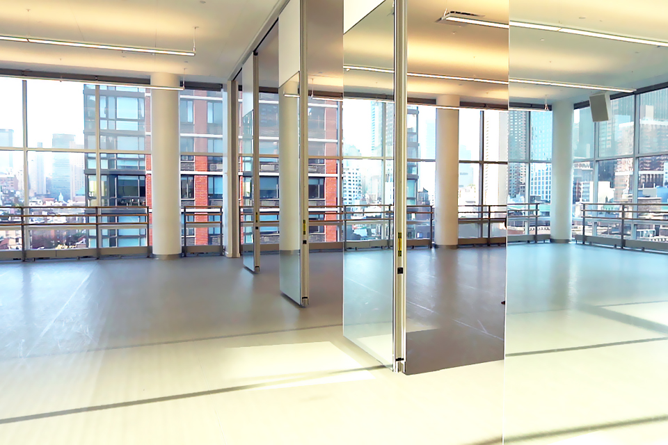 Encore 14 ft. Mirrored Single Panel Walls.