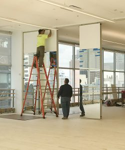 Encore panels onsite installation