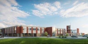 Holland Middle School Skyfold Modernfold