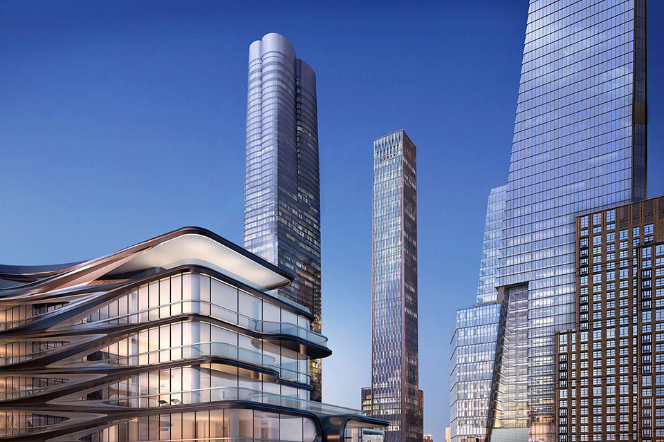 HUDSON YARDS VIEW FROM THE HIGH LINE