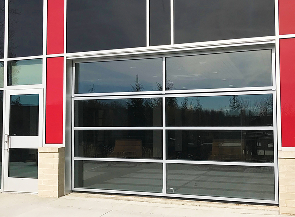 Hun Middle School Main Entrance Renlita S 2000 Glass Door Glass