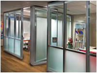 modernfold-and-dorma-kaba-img & Operable Partitions u0026 Office Front Glass Walls | ModernfoldStyles pezcame.com