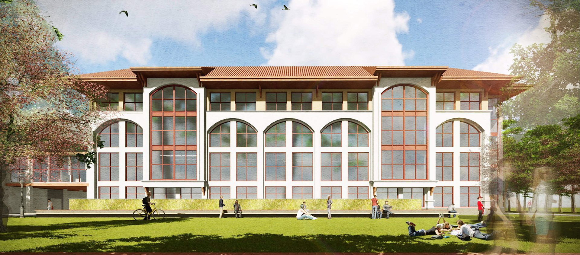 Montclair State University - Mallory Hall rendering