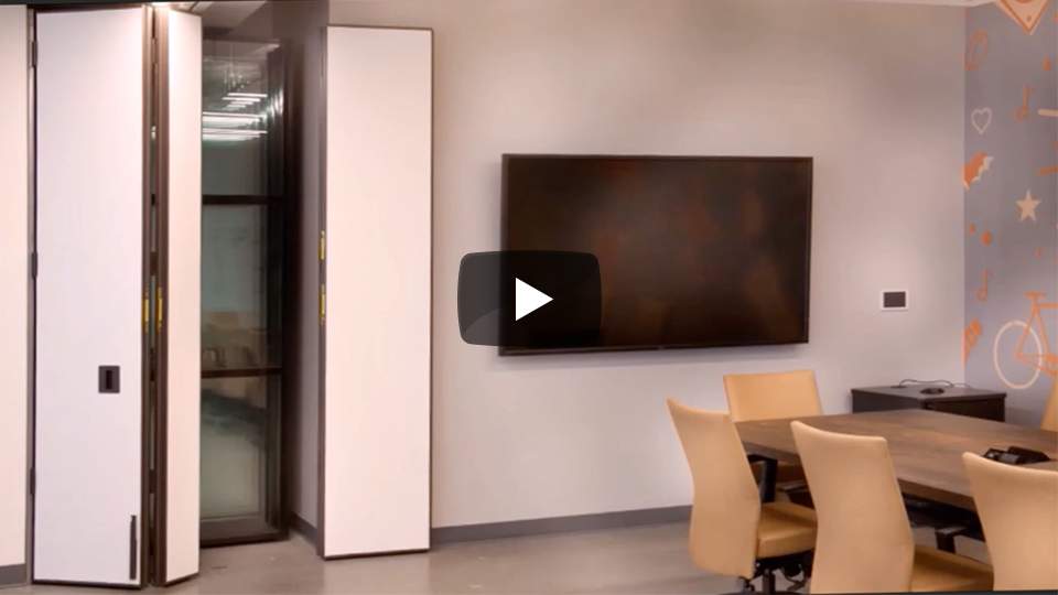 Modernfold operable partitions pocket doors