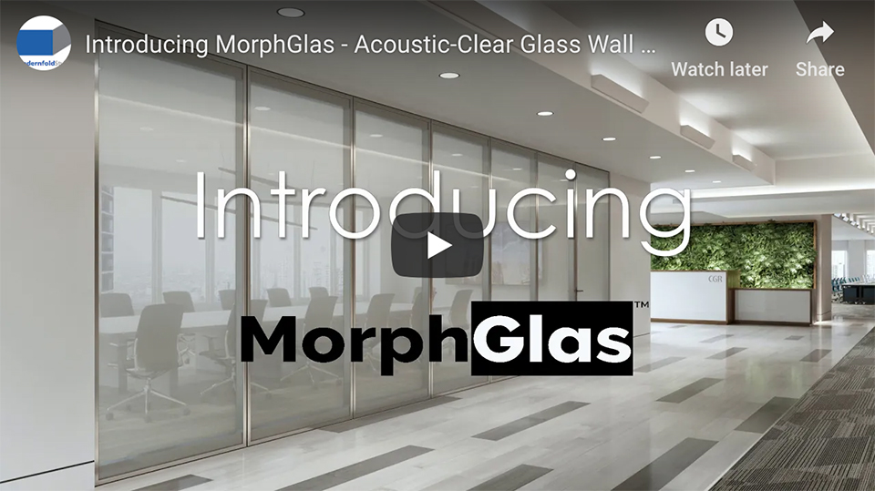 MorphGlas - switch glass for Acousti-Clear