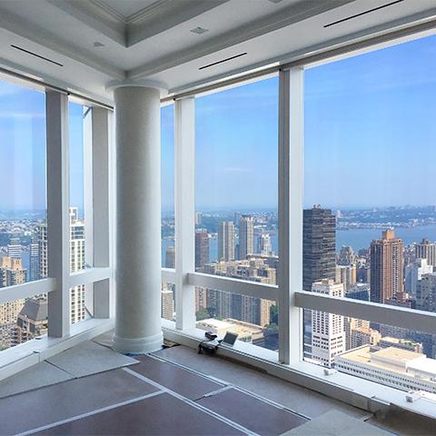 Nyc Luxury Apartment Corner Windows