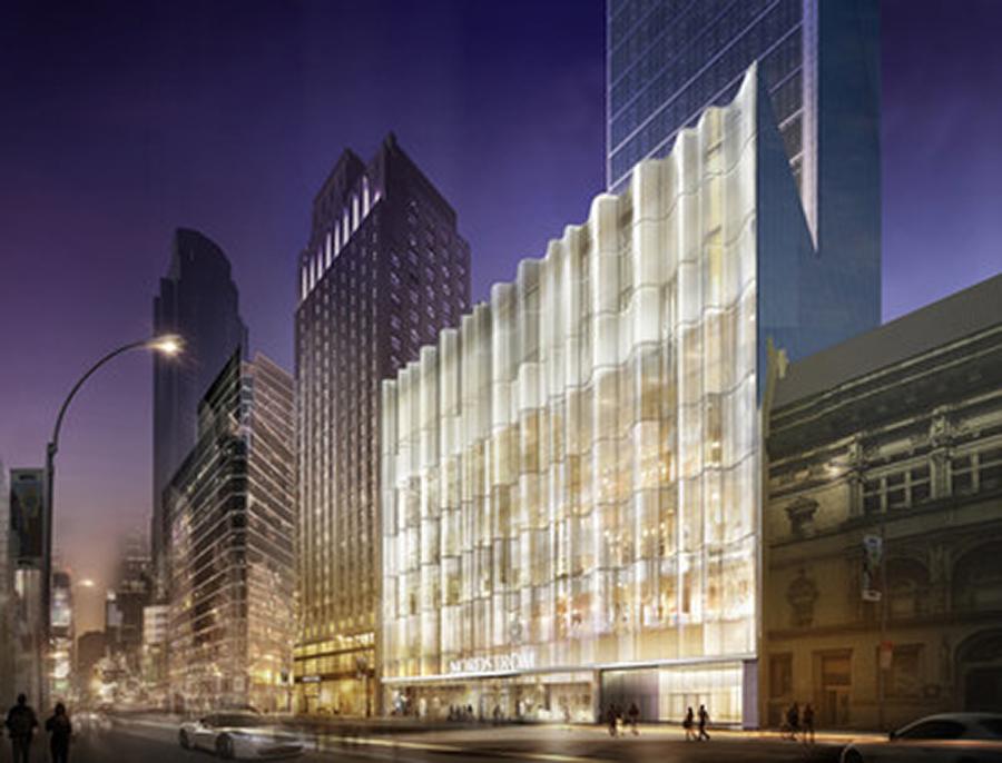Nordstroms New Manhattan Flagship Store A Visual Cutting Edge