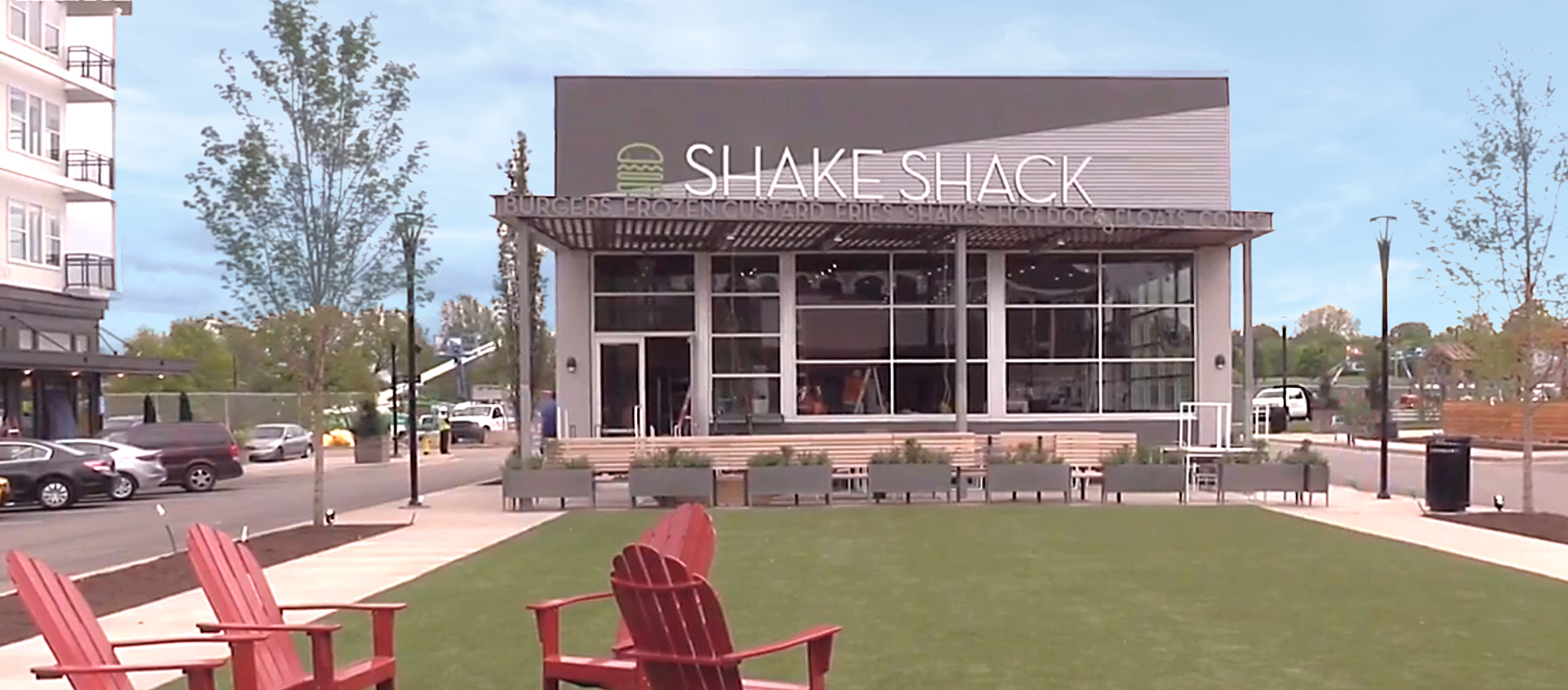 Renlita S-500 Shake Shack vertical door