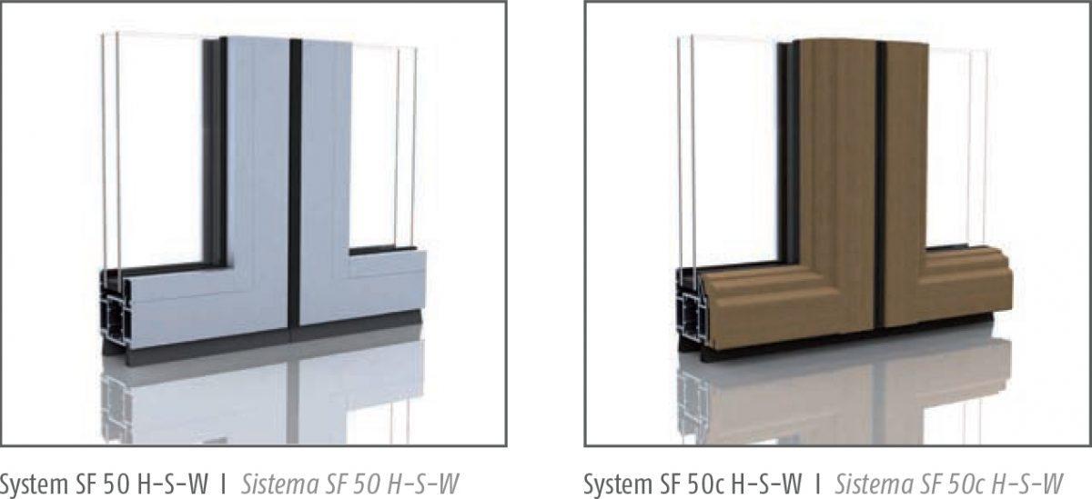 SF 50 / SF 50c HSW frames