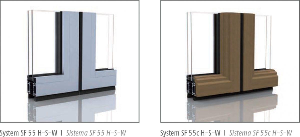 SF 55 / SF 55c HSW frames