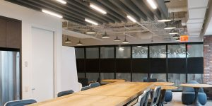 acousti-clear acoustic glass wall
