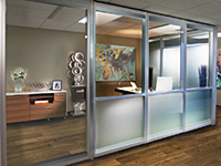Acousti-Clear Demountable Glass Walls