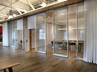 acousti-clear glass walls