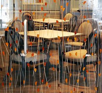 modernfold custom glass art wall