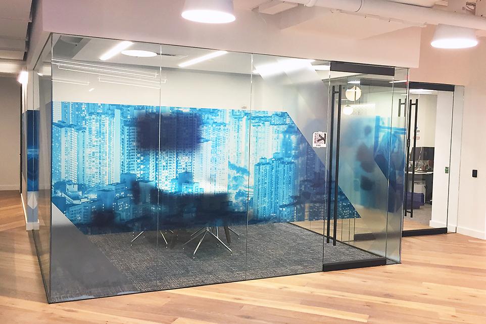 SVG Dorma swing glass doors