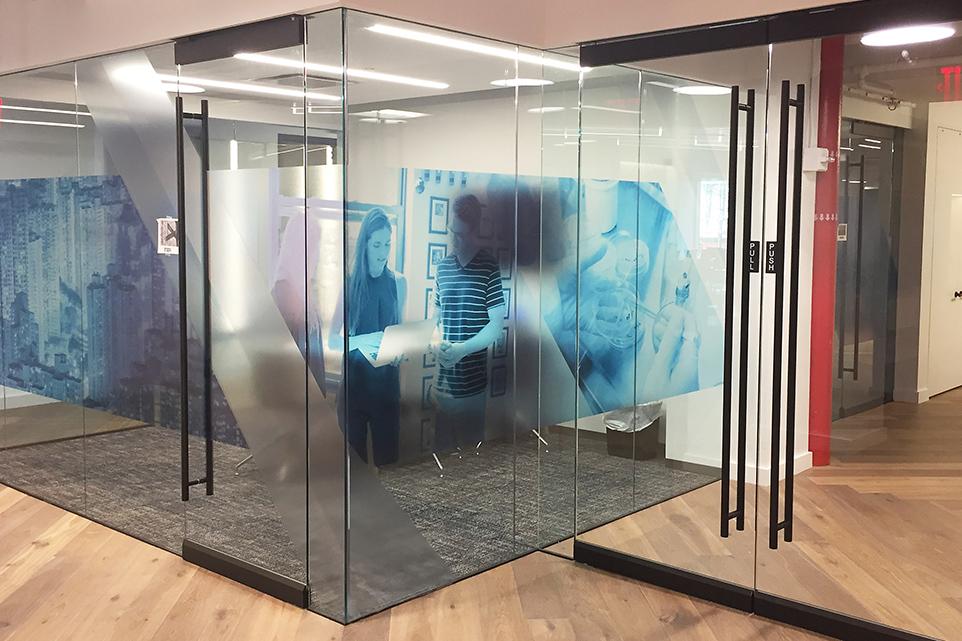 Dorma swing glass doors