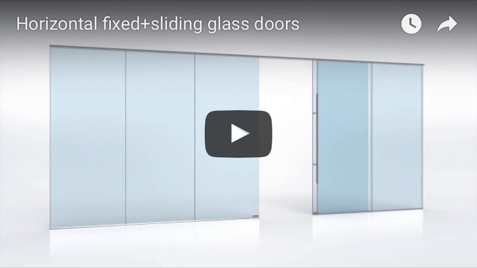 Fixed and Sliding Glass Doors animation
