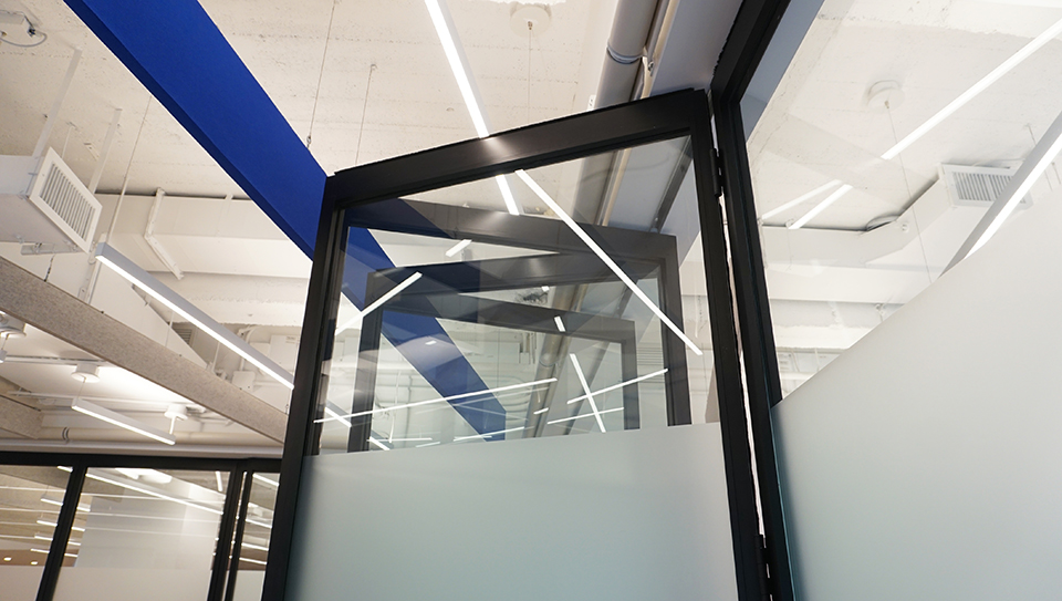 folding glass wall pk-30