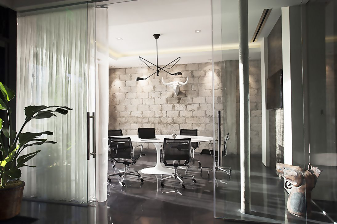 Klein Rolmatic bi-parting sliding glass doors