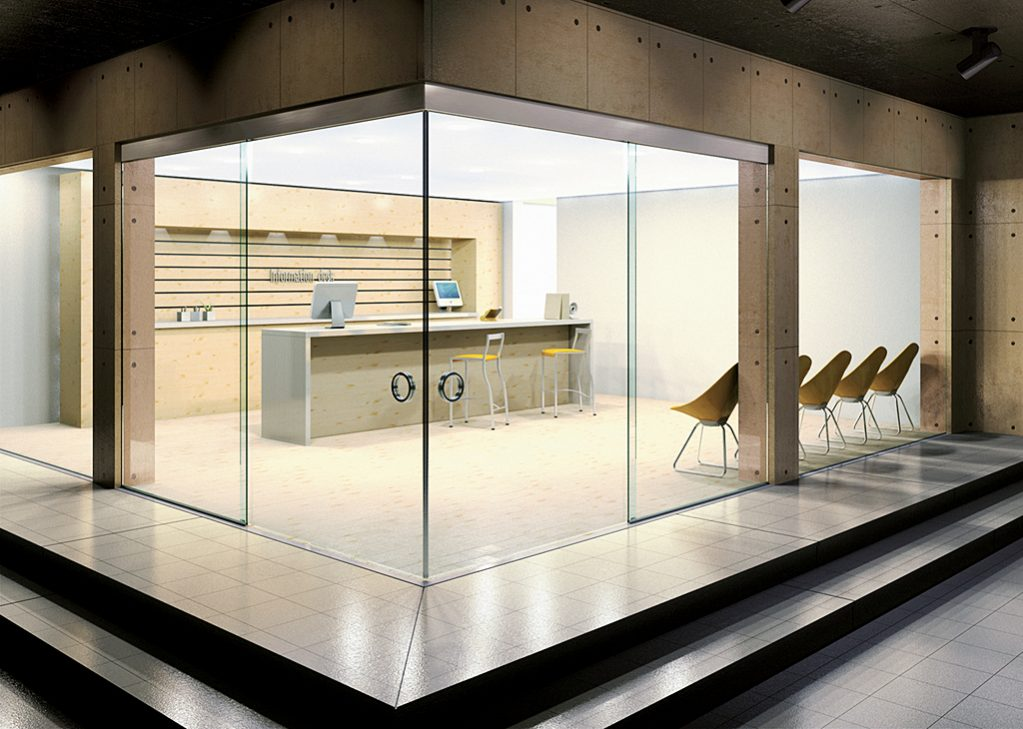 Klein bi parting glass doors by modernfoldstyles for Corner sliding glass doors