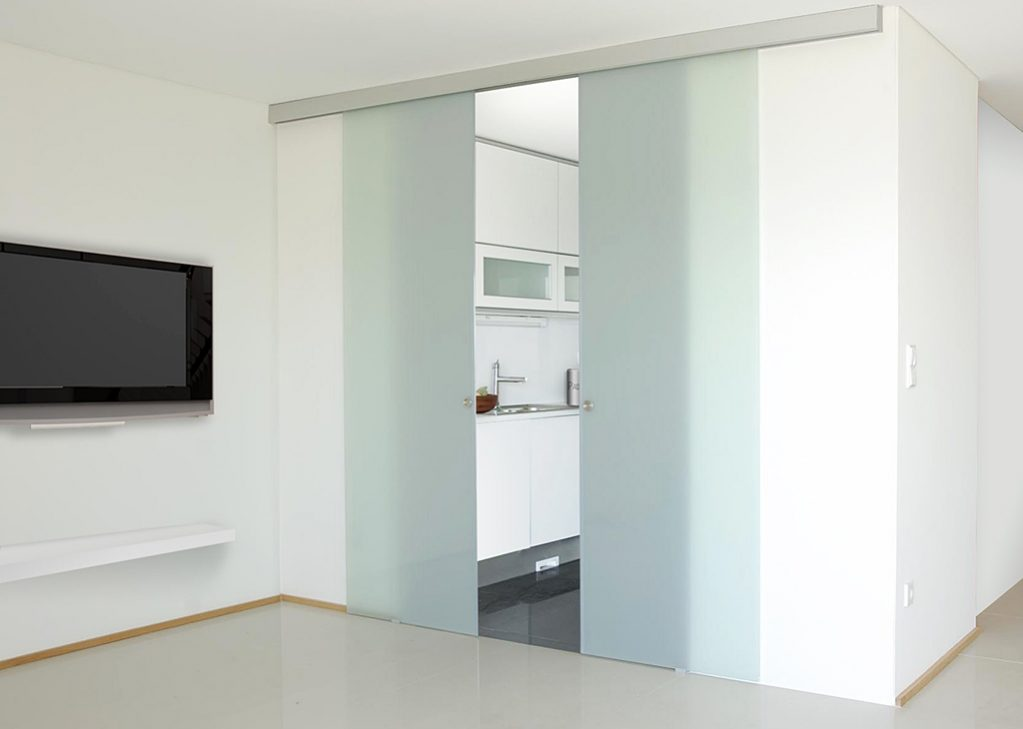 klein unikmatic biparting sliding doors