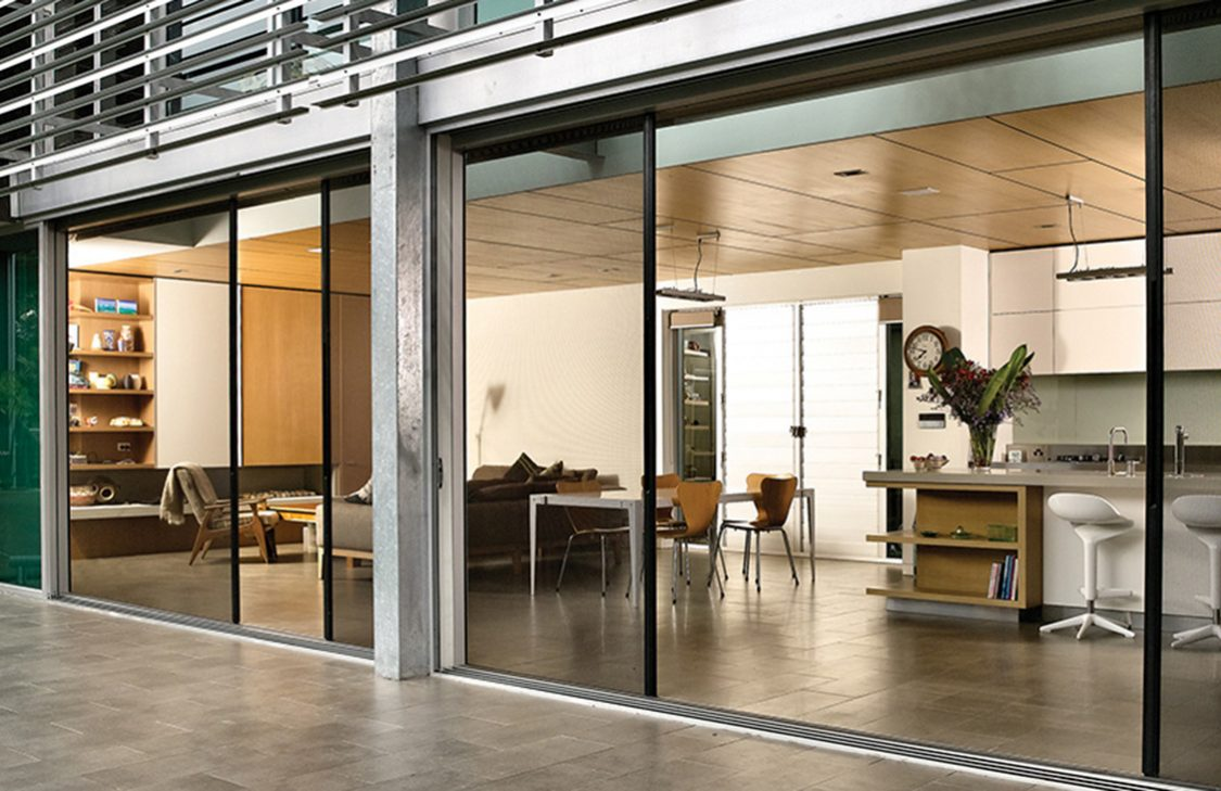 Lacantina Doors Cost Interesting Panoramic Door Open To