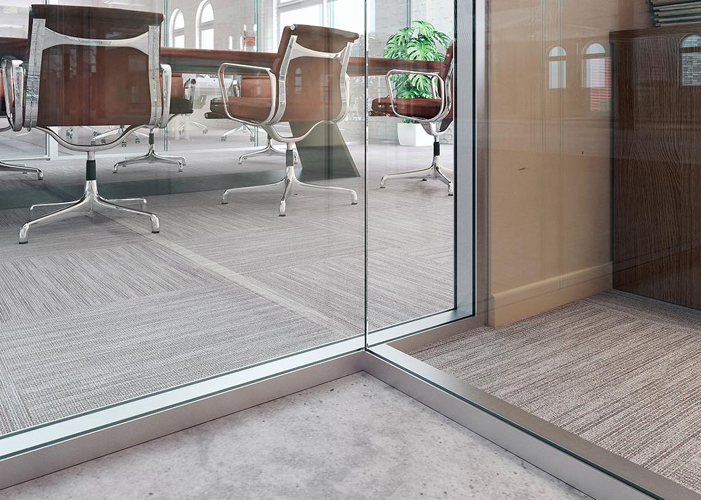 single glaze to double glaze glass walls
