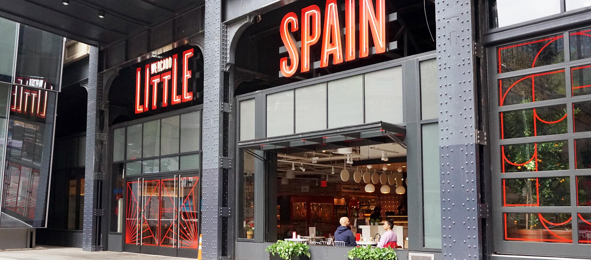 Mercado Little Spain in Hudson Yards - Renlita S-2000 bifold door
