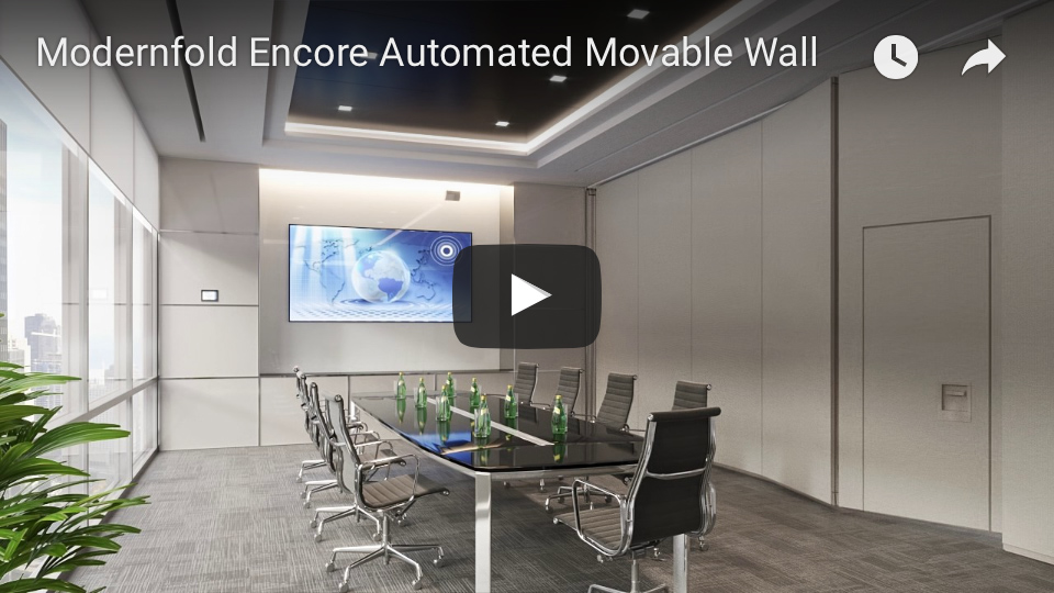 Modernfold Encore Automated Movable Wall