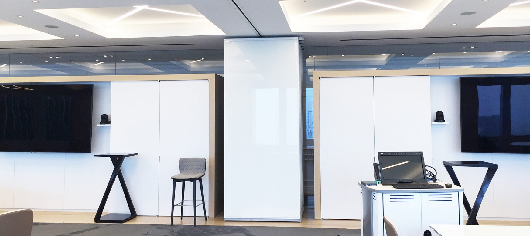 Encore Paired Panels Markerboard