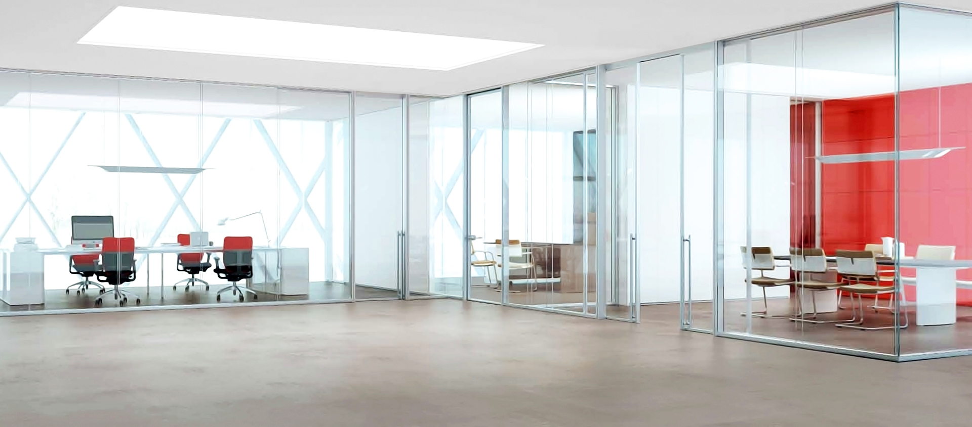 Moodwall demountable glass walls by modernfoldstyles for Electric moving wall pictures