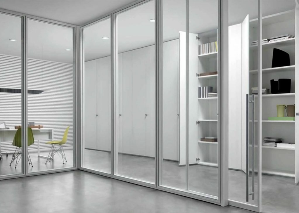 Moodwall architectural demountable glass walls by for Glass walls and doors