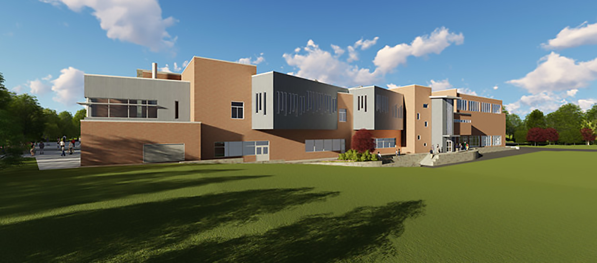 New Paltz Middle School - rendering