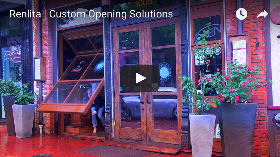 Renlita Custom Opening Solutions youtube video