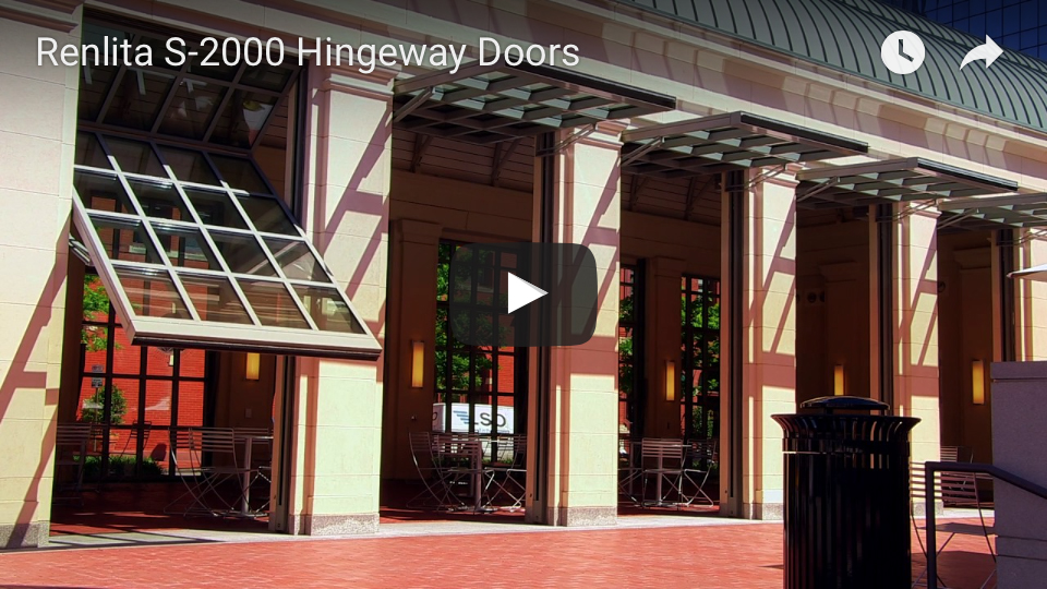 Renlita S-2000 vertical hingeway door youtube 1