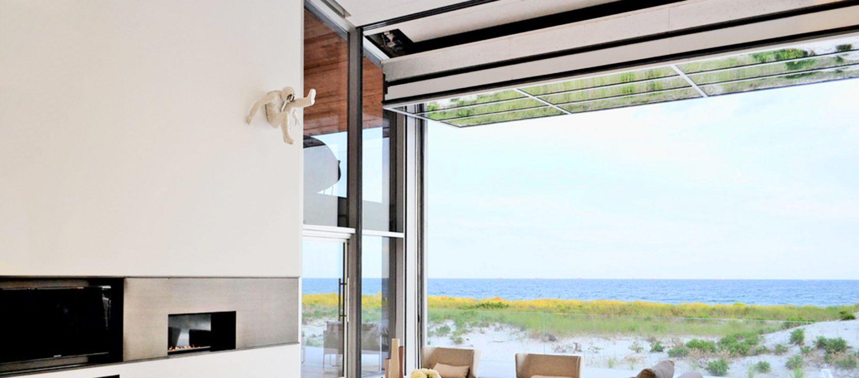 Renlita S-3000 residential vertical glass wall