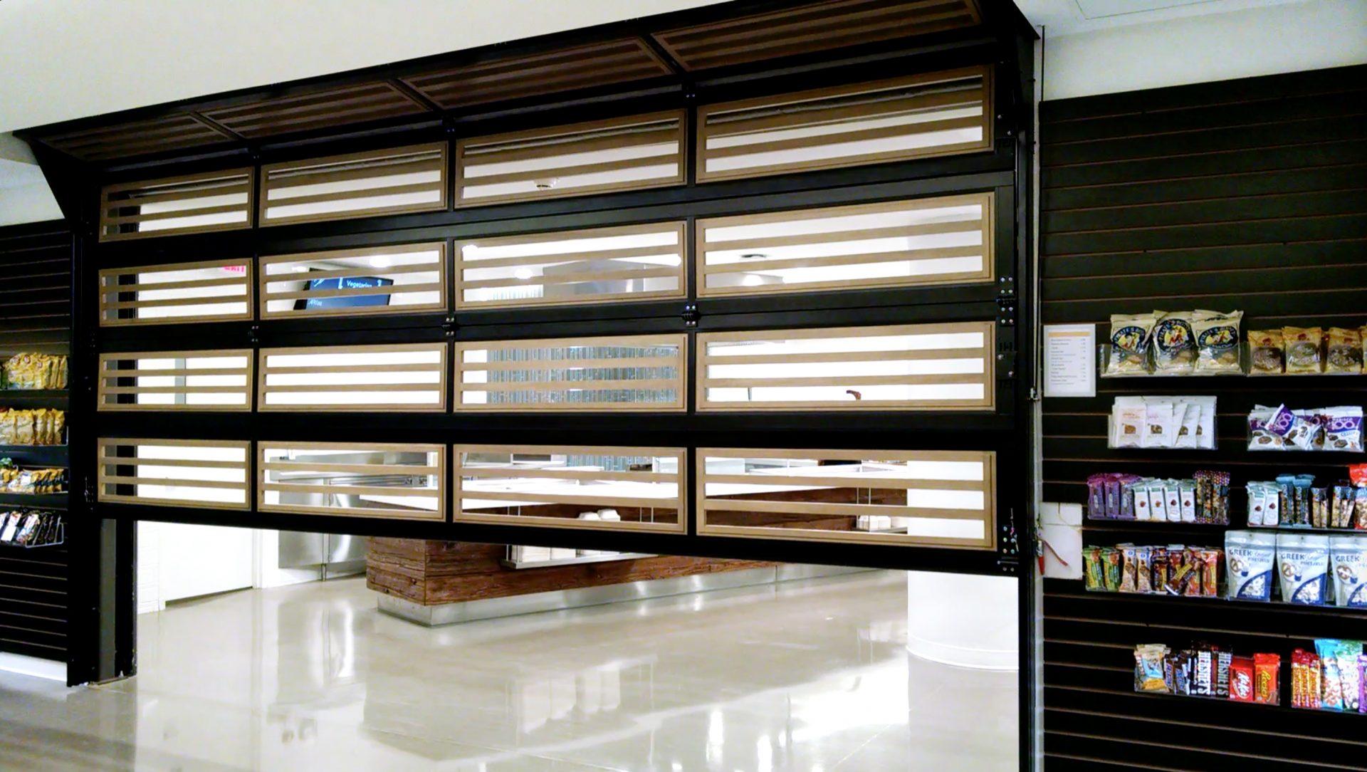 Renlita Sovereign vertical glass wall