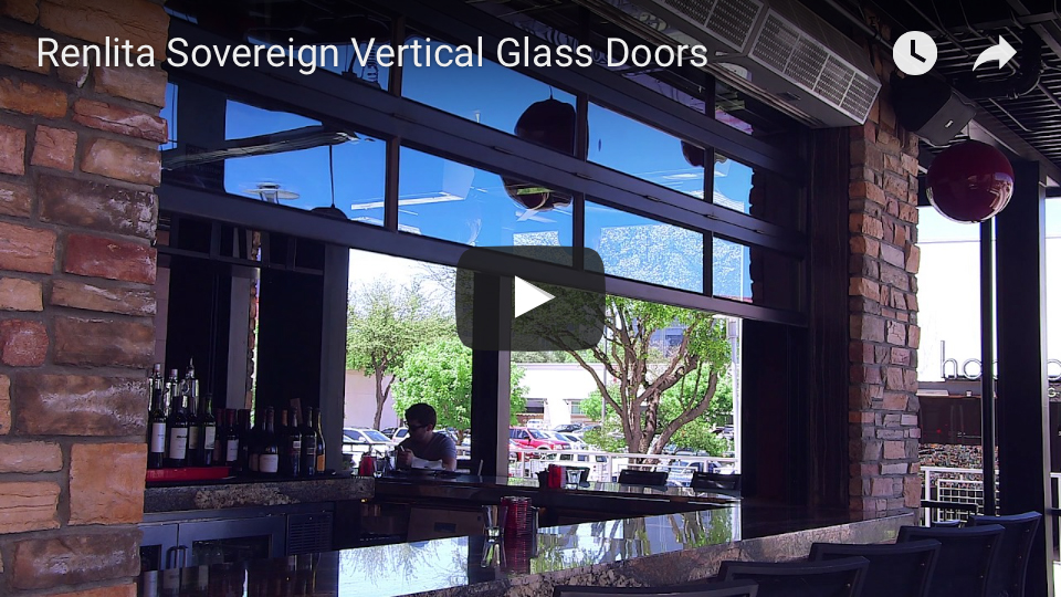 Renlita Sovereign Vertical Glass Doors