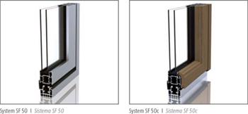 SF 50 and SF 50c frames
