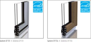SF 55 and SF 55c frames