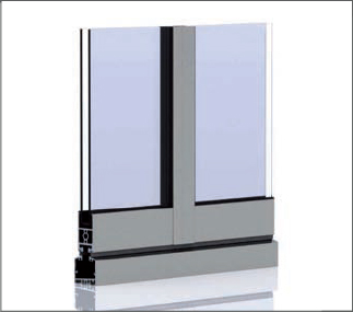 SF 35 aluminum system double glazing