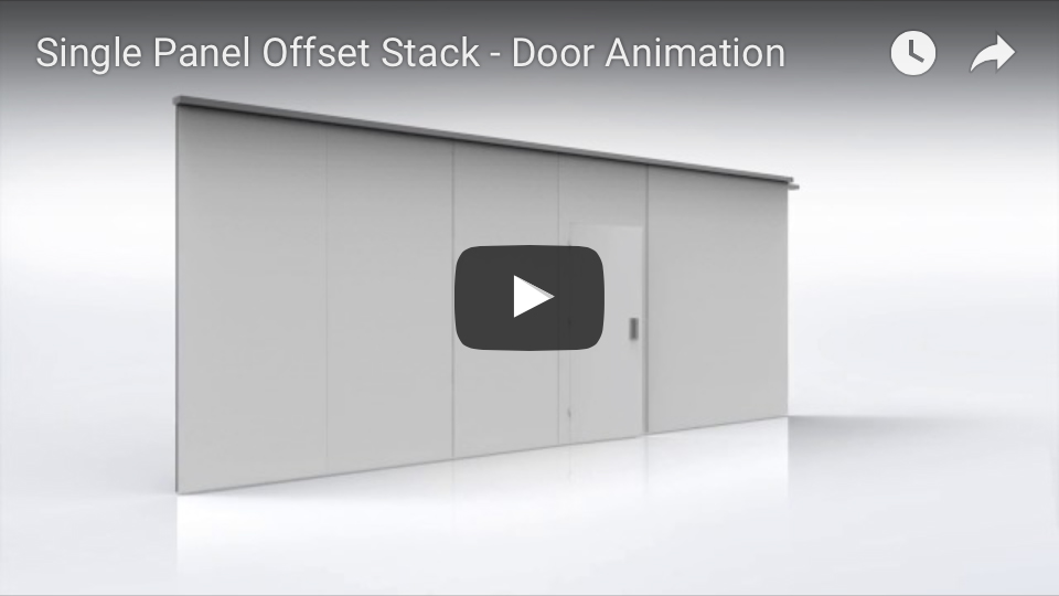 Single Panel Offset Stack Animation