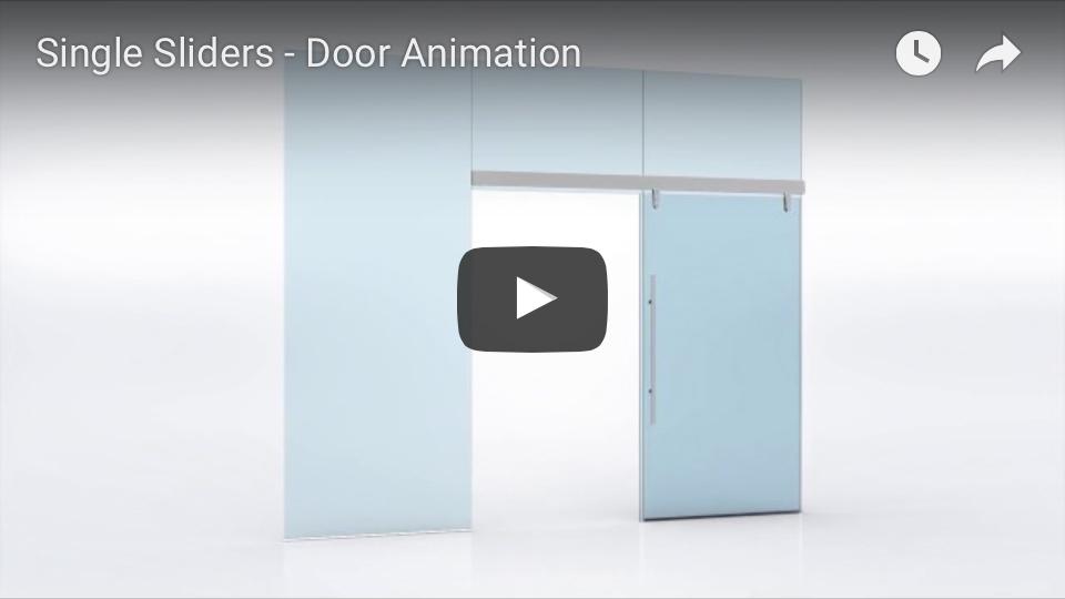 Single Slider door animation