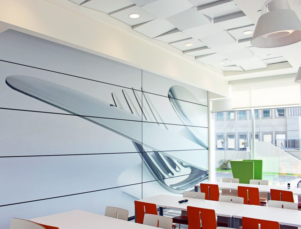 Skyfold Classic 55 custom vertical retractable partitions